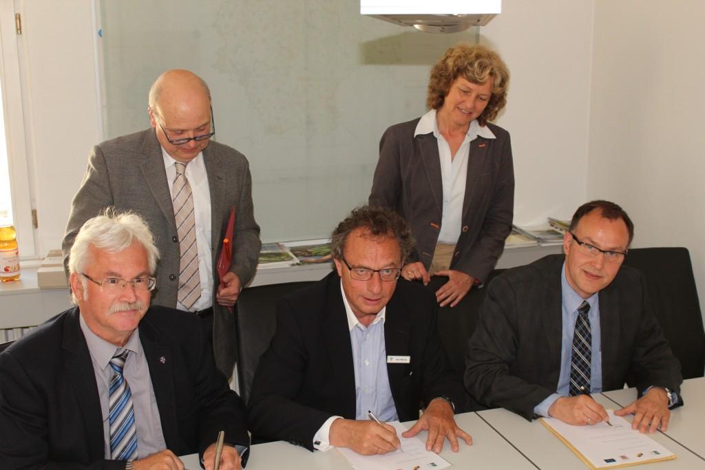 Partner erhoffen sich beim Wettbewerb um EU-Fördermittel bessere Chancen
