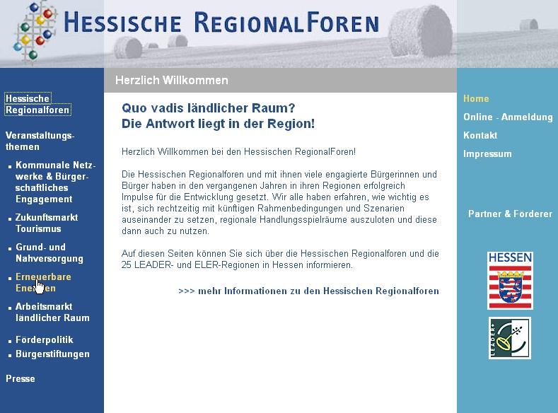 Regionalforum Limburg-Weilburg / Diez – neue Projekte!