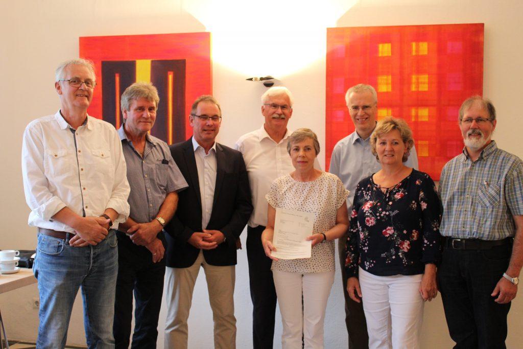 LEADER-Förderung für Projektstelle Gnadenthal