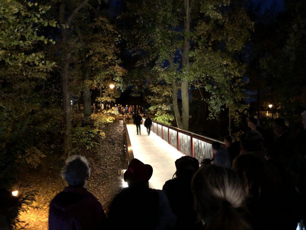 EURO 200.000,- LEADER-Zuschuss            Einweihung der Kurparkbrücke Bad Camberg
